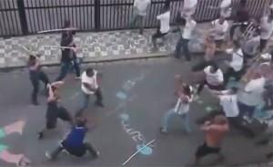 Видео: Бой между Сантос и Коринтианс