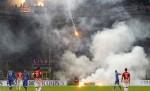 Хървати прекъснаха мача с Италия за 10-на минути